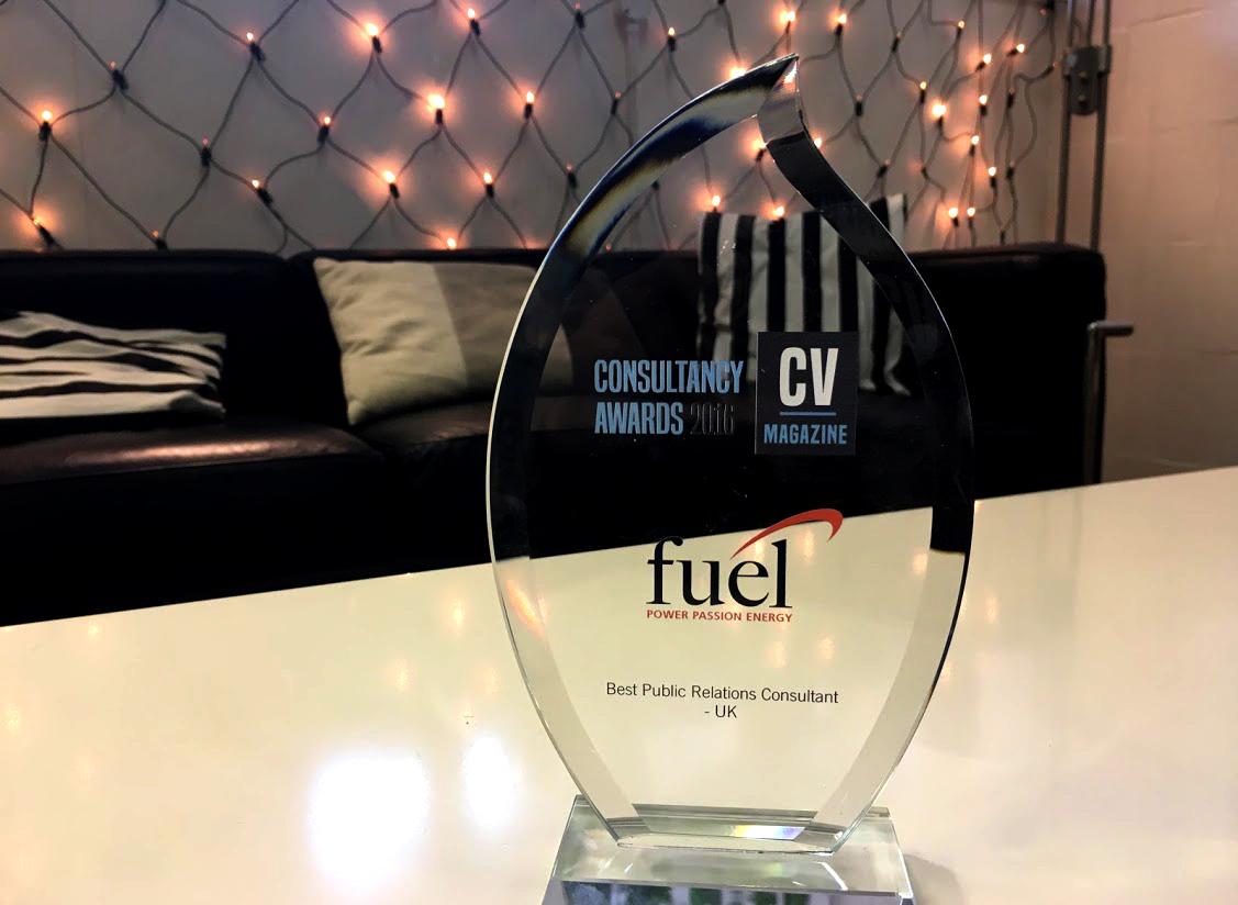 gillian-waddell-fuel-pr-award-cv-magazine-best-public-relations-consultant-uk